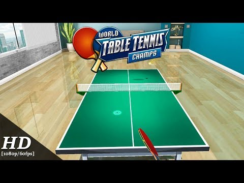 World Table Tennis Champs Android Gameplay [1080p/60fps]