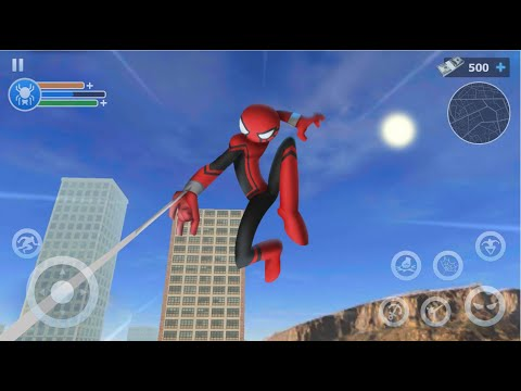 Spider Stickman Rope 2020 (Adventure Hobby Games) | Android Gameplay HD