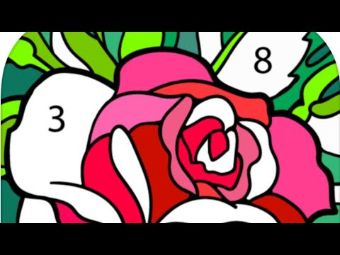 1. Happy Colors Color By Number | Fun Art For Kids & Adults