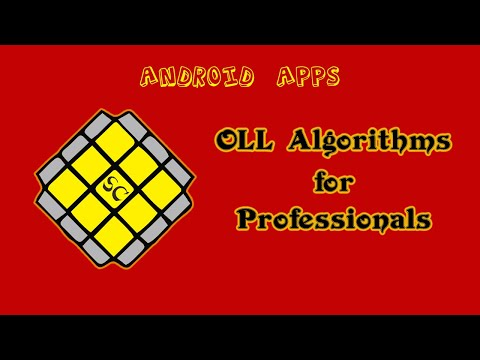 OLL Algorithems for Professional , Android Aplication  introduction