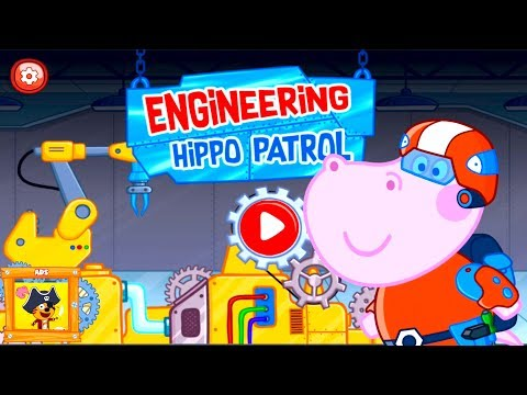 Hippo Engineering Patrol & Gameplay #1 Android / IOS