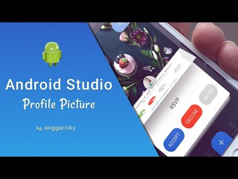 Circle Profile Picture in Android XML Tutorial