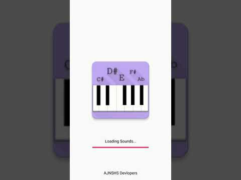 A to z piano notes application