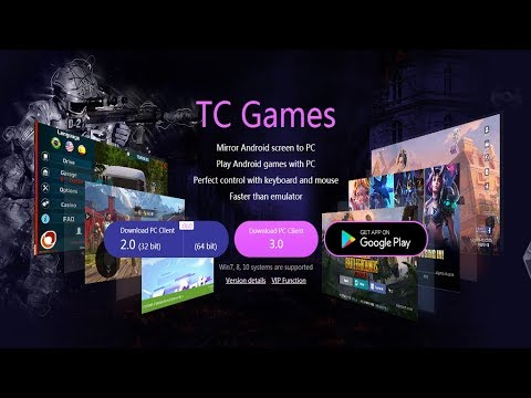 How to Download & Instal TC Games 3.0 ~ Mirroring Your Android Screen to PC Screen