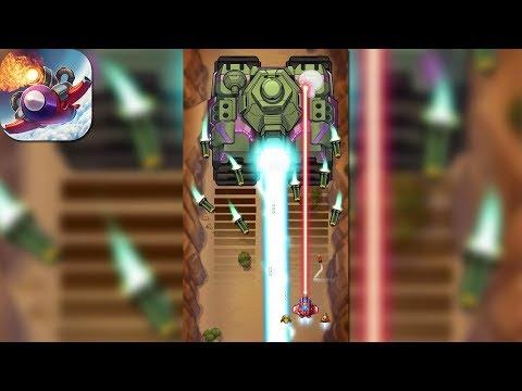 Wind Wings: Space shooter - (Android iOS Gameplay)
