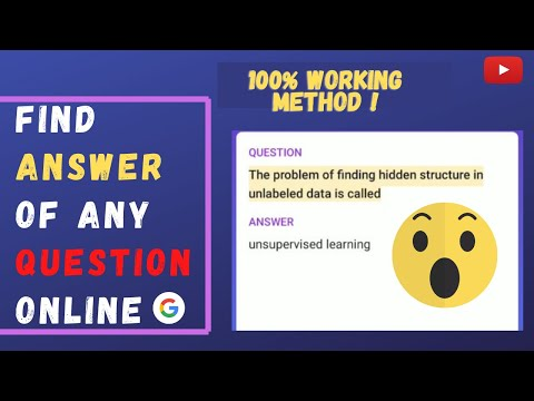 How to find questions and MCQ's answers quickly