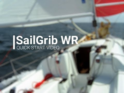 video review of SailGrib Weather Routing Free