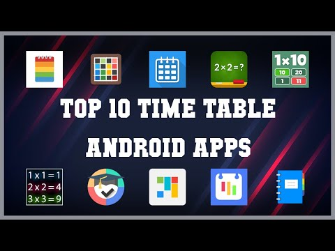 Top 10 Time Table Android App | Review