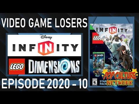 Video Game Losers 2020 - 10: Disney Infinity & LEGO Dimensions Never Stood A Chance