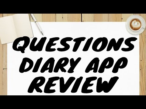 QUESTION DIARY APP REVIEW   #themidnightraven