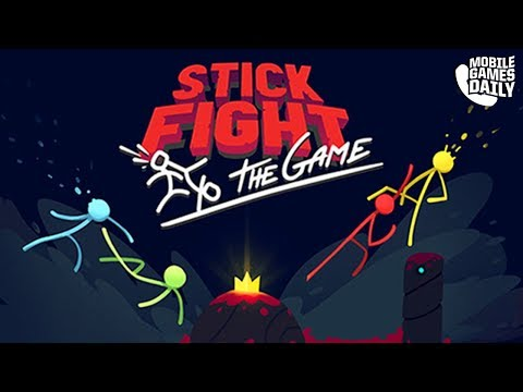 Stick Fight: The Game Mobile - Gameplay Part 1 (iOS Android)