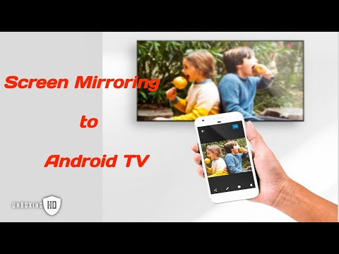 SCREEN MIRRORING TO ANDROID TV