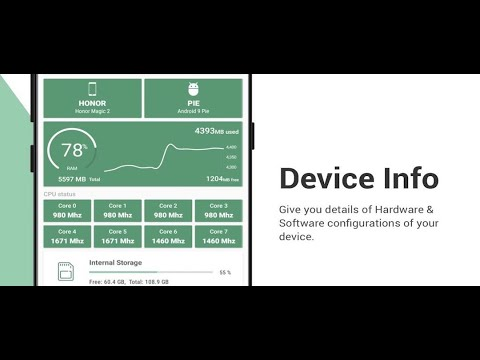 video review of Device Info