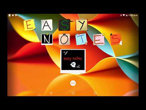 video review of Another Note Widget