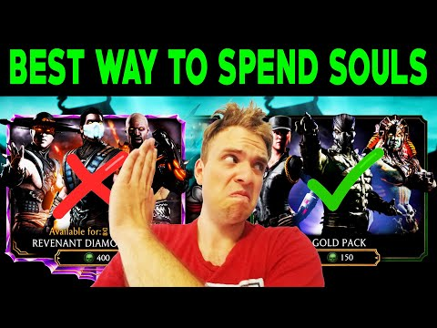 MK Mobile. Tips on How to Spend Souls Most Efficiently. Pack Openings for Subs #10