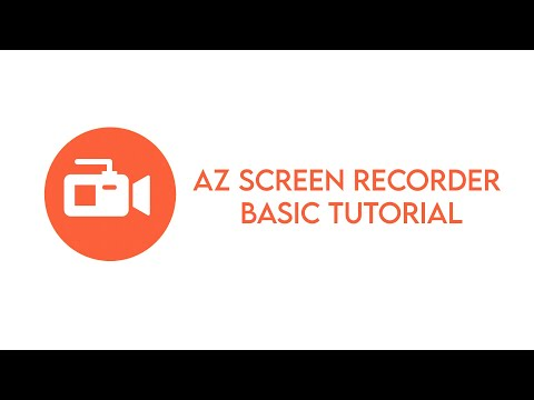 AZ SCREEN RECORDER TUTORIAL FOR TEACHERS   SCREEN RECORDER   FOR ANDROID USERS