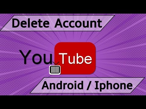 Delete YouTube Account on Mobile App [ Android  / Iphone ]