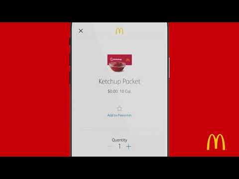 How to use McDonalds Mobile App