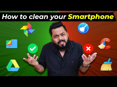How To Clean Your Smartphone Without Any Cleaner Apps ⚡⚡⚡ Dont Miss This!!