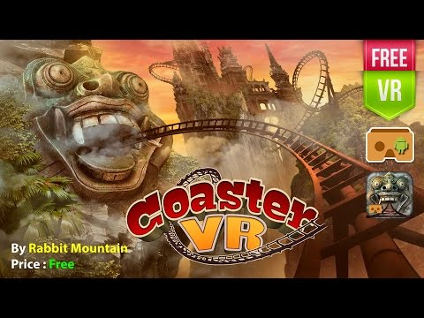 VR Roller Coaster Temple Rider Get the ultimate VR Roller Coaster running through ancient temples!