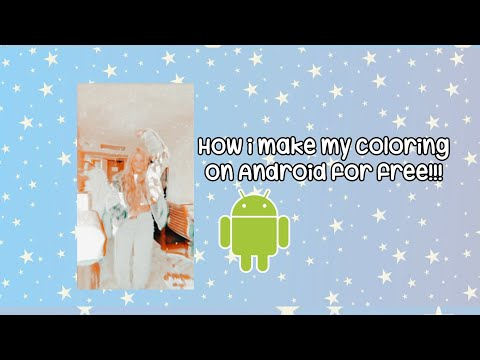 how i make my coloring on android device (fanpage)!!