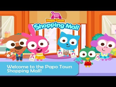Papo Town: Mall - Games for Kids - Color Network
