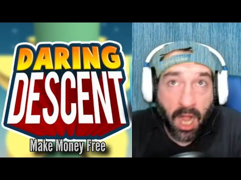 DARING DESCENT | Win / Make Money Free Make Earn Cash Game App 2021 Gameplay Review Youtube YT Video