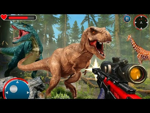 Wild Dino Hunting Clash : Animal Hunting Games Gameplay Android-İOS Dinazor Vurma Oyunları