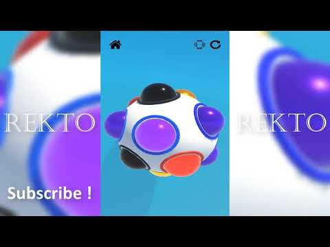 Sensory Fidget Toys Game! Antistress & Antianxiety - ALL Levels - iOS/ANDROID Gameplay
