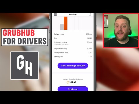 How to Use the GRUBHUB DRIVER APP 2021! Full Tutorial (How to Deliver with Grubhub)