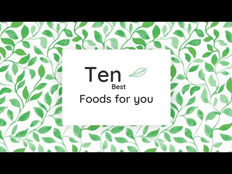video review of 10 Best Foods for You