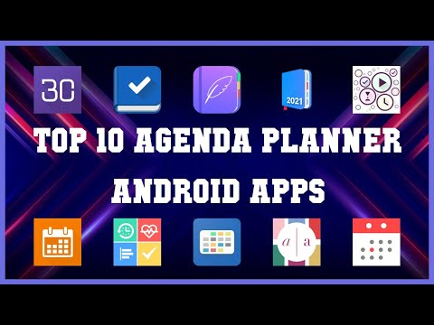 Top 10 Agenda Planner Android App   Review