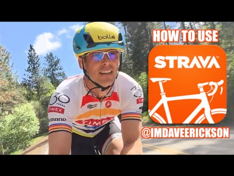 How to Use Strava Cycling App