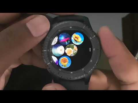How to Send image file from Samsung Gear S3 to phone