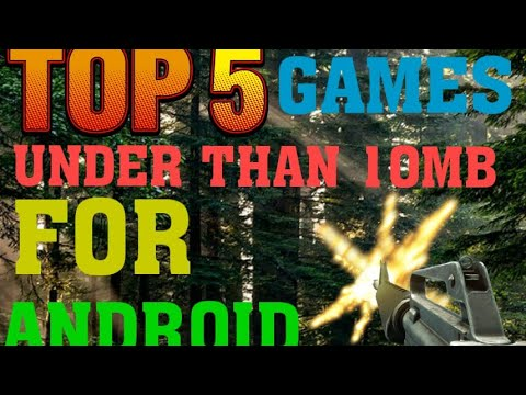 Top 5 Best Games under than 10mb for android with link | It's SURYA |
