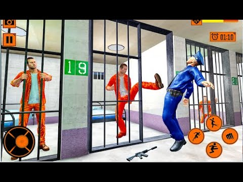 Grand Jail Break Prison Escape Part-1 | New Prisoner Android GamePlay | By Game Crazy