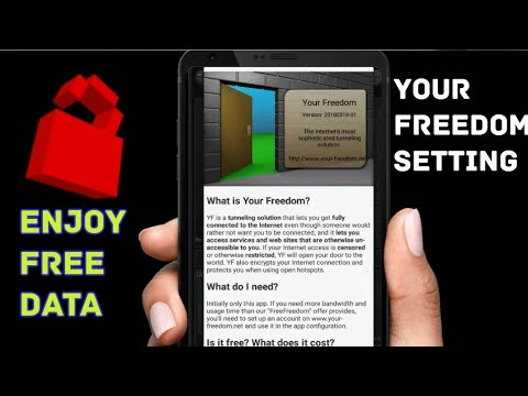 How To Setup Your Freedom VPN And Enjoy Free Internet Data-2019