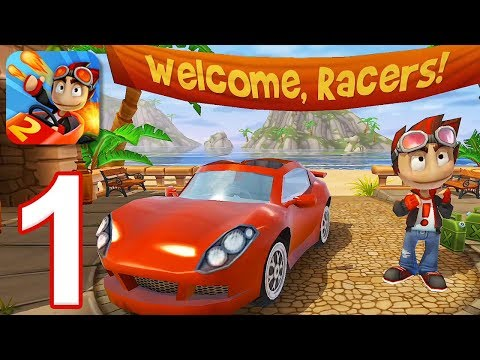 Beach Buggy Racing 2 - Gameplay Walkthrough Part 1 (iOS, Android)
