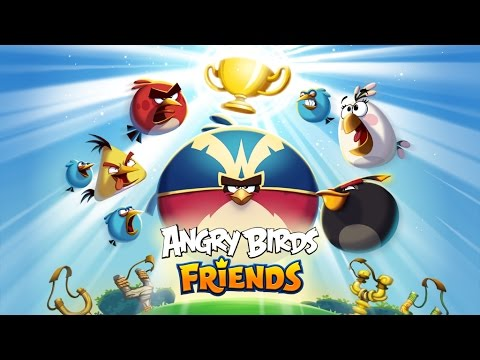 video review of Angry Birds Friends