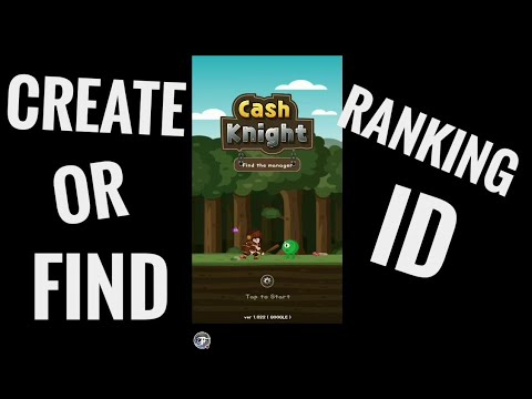 Cash Knight - How to create or find Ranking ID ?
