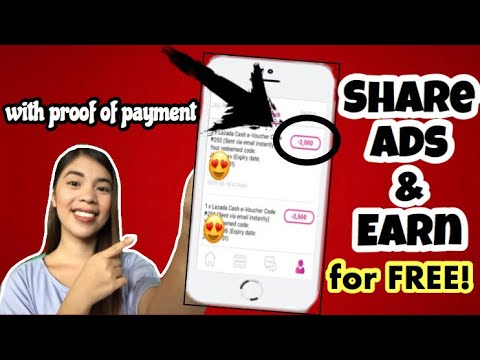 Earn by Viewing and Sharing Ads for FREE: Legit Paying App