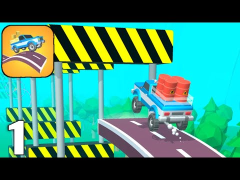 Road Hills - Gameplay Walkthrough Part 1 Levels 1-20 (Android & iOS)