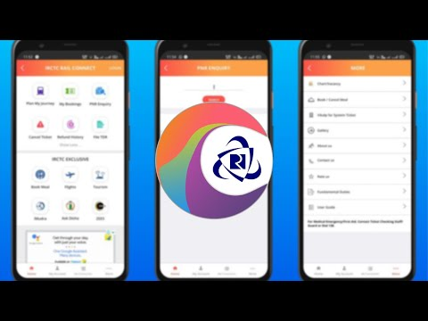 How To Downloaded And Use New IRCTC Rail Connect App