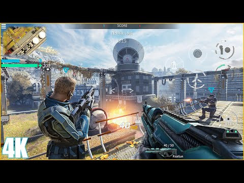 Infinity Ops Online FPS Cyberpunk Shooter Android Gameplay (Mobile, Android, iOS) - Action Games