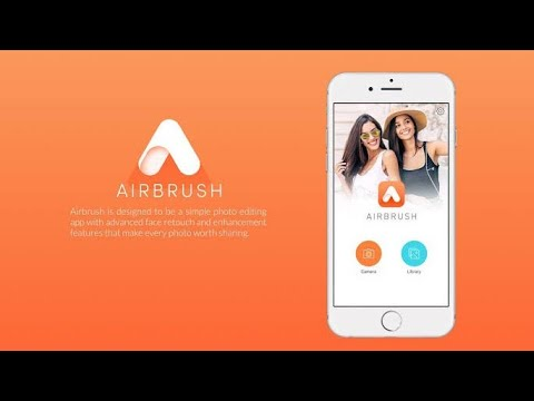 AirBrush: Easy Photo Editor || AirBrush Android App 2020