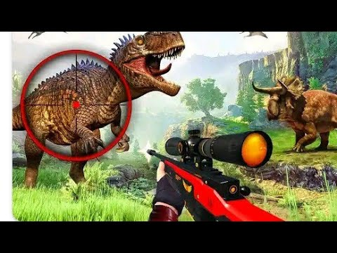 Wild Dinosaur Hunting Games Android game player