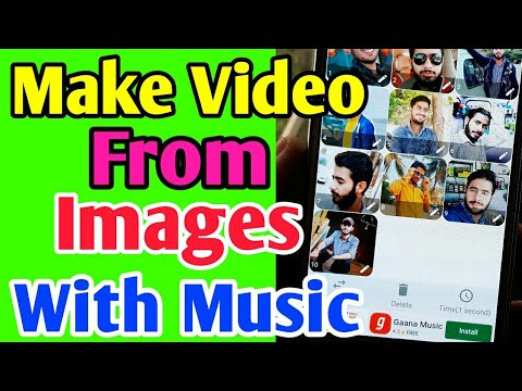 How to Make Video From Images with music || Video with Images with Extra Effect and Music