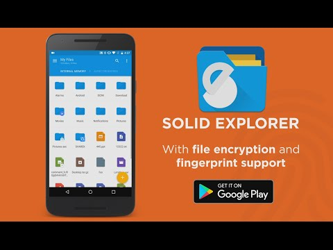video review of Solid Explorer File Manager