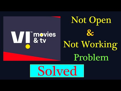 How to Fix Vi Movies & Tv App Not Working Issue  