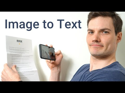 How to Convert Image to Text in iPhone & Android